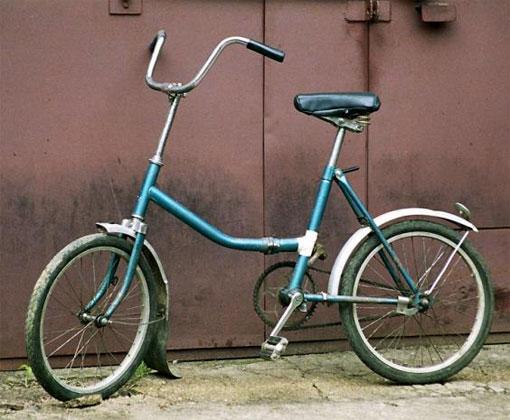 Самыми пижонскими в быту были складные велосипеды «Кама», «Салют», «Аист» и «Десна». По ходовым качествам они, конечно, уступали обычным дорожным великам